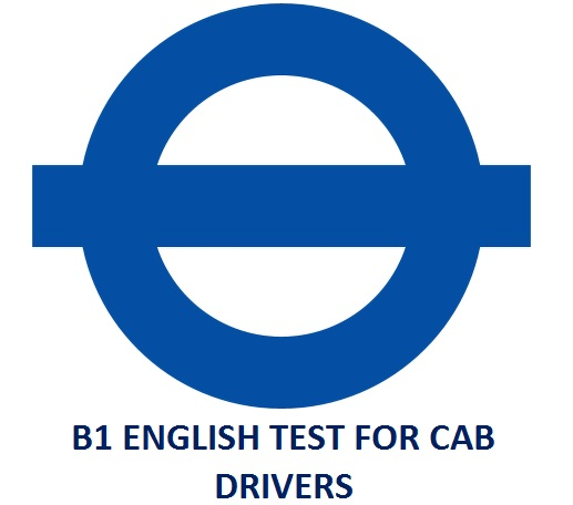 English test for private hire